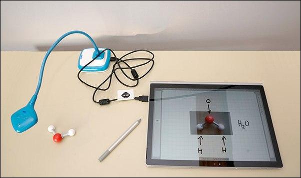 Dokumentenkamera mit Openboard