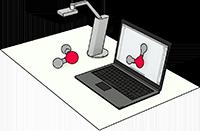 Dokumentenkamera mit Openboard Whiteboard-Software