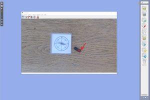 Auf Livevideos zeichenen in Openboard