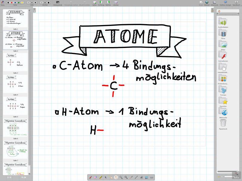Chemie mit Openboard