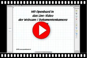 Videoanleitung Dokumentenkamera Openboard